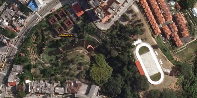 Fotos Satelitales del parque de la Vida
