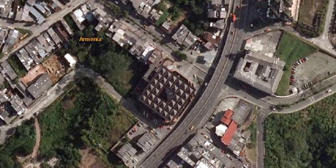 Fotos Satelitales del Centro Comercial Bolívar