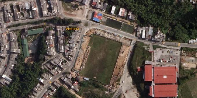Fotos Satelitales del Antiguo Estadio San José