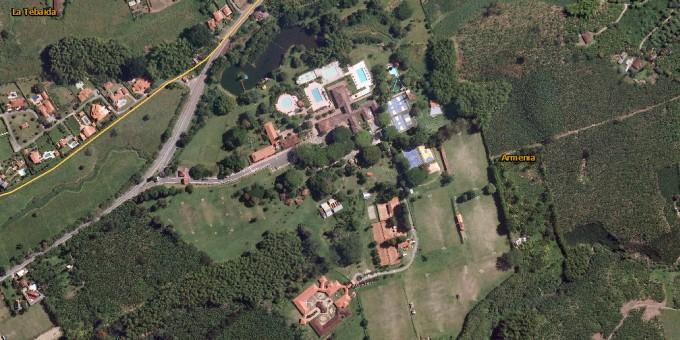 Fotos Satelitales del Centro Vacacional Comfenalco