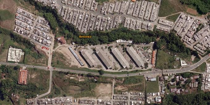 Fotos Satelitales de la Central de Abastos Mercar.