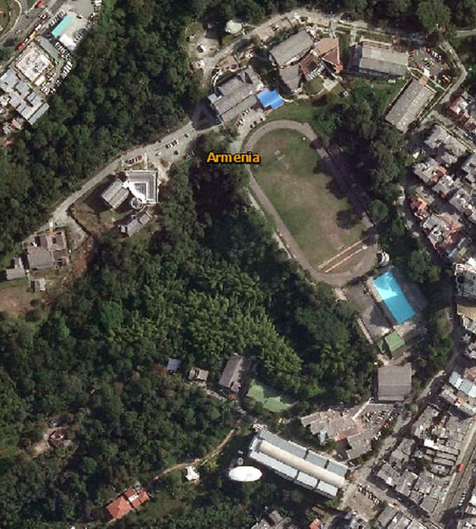 Fotos Satelitales de la Universidad del Quindio