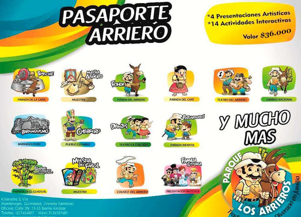 Imagen del Pasaporte en el Parque los Arrieros
