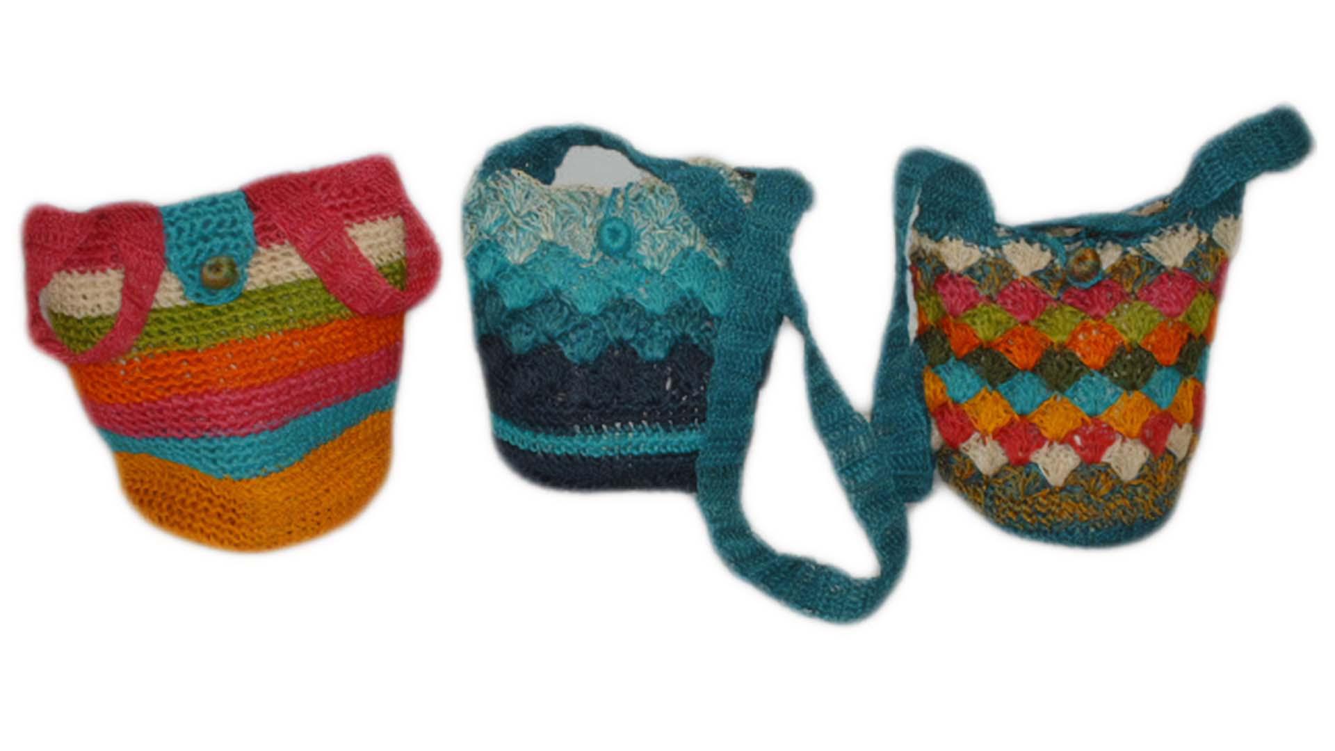 Imagen de bolsos de Artesanías de Fique de Aranzazu, Caldas