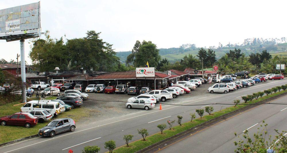 Imagen del Roble uno de los mejores restaurantes del Quindio