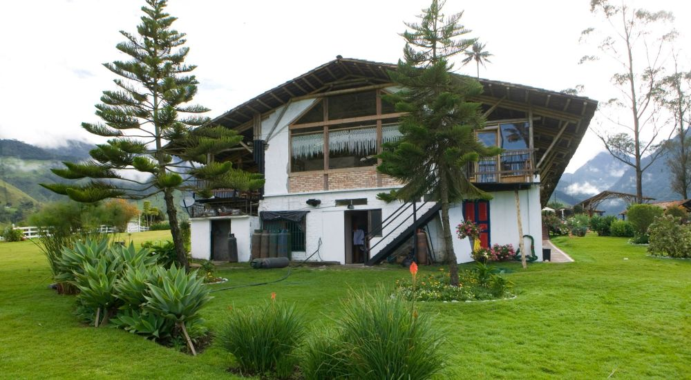 Bosques de Cocora donde Juan B uno de los mejores restaurantes del Quindio
